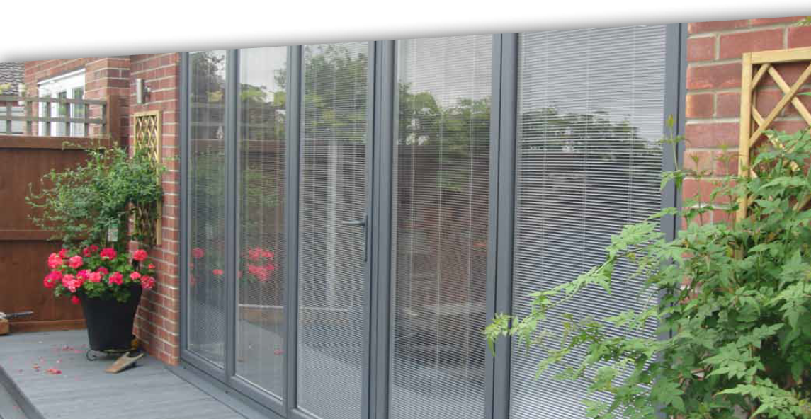 Blinds In Glass