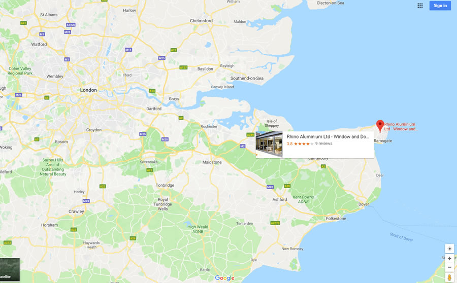 Come and see us at our Factory, Office and Showrrom in Broadstairs Kent CT10 2QQ